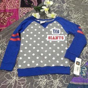 NY Giants Girls Size L 6X Sweatshirt